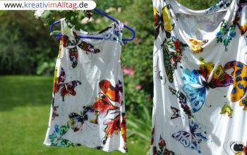 Wasserfallkleid mit Partnerlook-Kleid für die Kleine