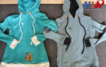 Hoodies für Mutter und Tochter im Partnerlook