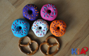 Süße Donutnähgewichte selbst herstellen
