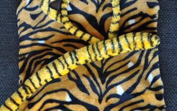 Ein Tigerkostüm für unseren kleinen Tigermann