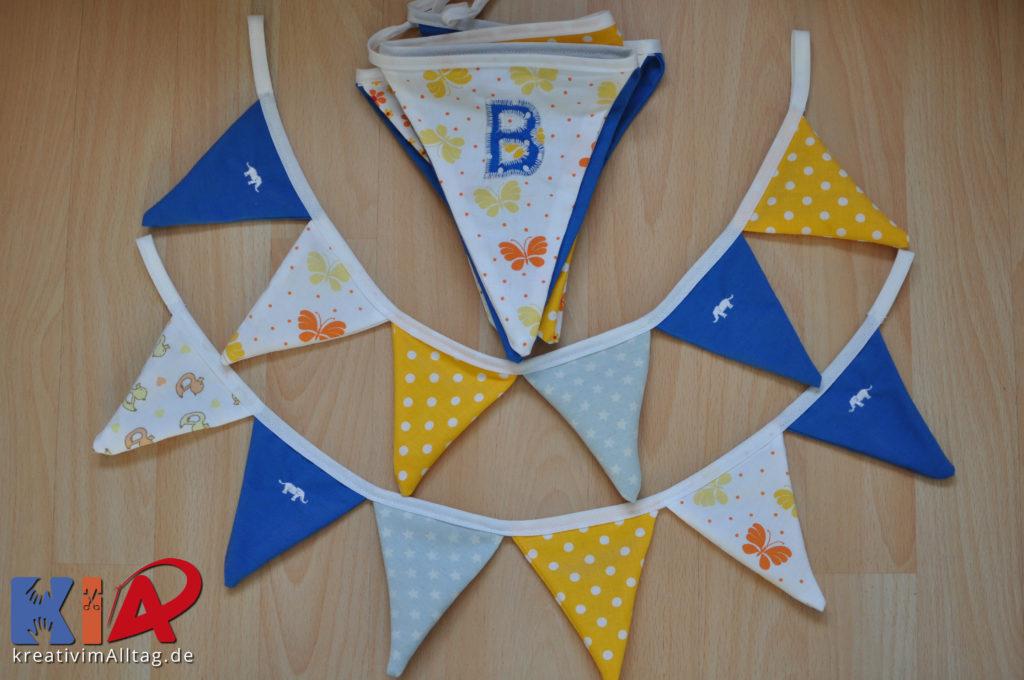 Wimpelketten für das Kinderzimmer klein und groß