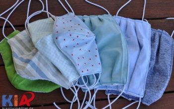 Mundschutzmasken schnell selbst nähen – ein Vergleich