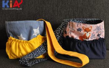 Taschen für Tonyboxen nähen: Troxi