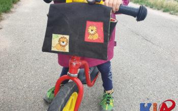 Laufradtasche für Kinder zum Sammeln und Transportieren unterwegs