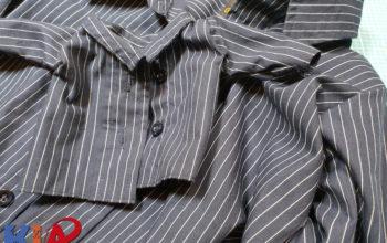 Anleitung zum selbst nähen: Ein Hemdenset für den Sohnemann und seine Puppe aus einem alten Männerhemd Teil 1