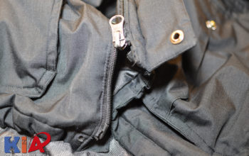 Alltagsreparaturen: Reißverschluss an einer Herrenwinterjacke ersetzen